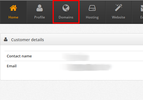 click-domain