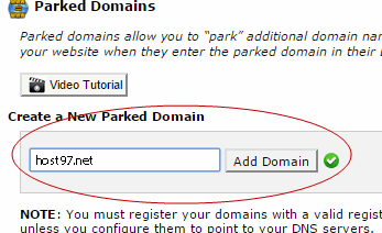 how-to-park-domain-in-cpanel