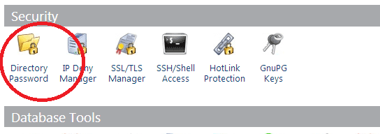 Cpanel-Directory-Password